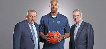 Minnesota Timberwolves. Taj Gibson, pieza clave de Minnesota.