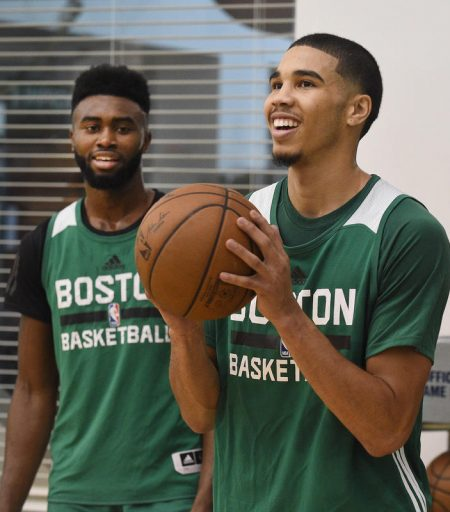 Tatum y Brown, el futuro de Boston Celtics.