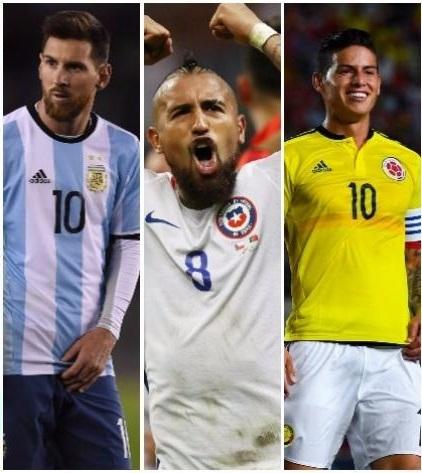 Mundial Rusia 2018. Messi, Vidal y James Rodríguez. Capitanes de selección. Movistardeportes.pe