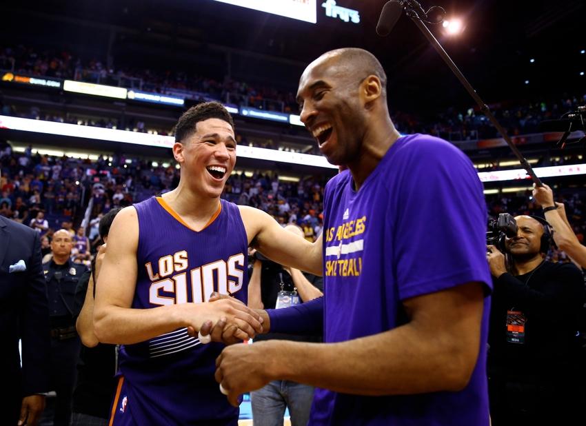 Phoenix Suns. La estrella de los Phoenix Suns, con Kobe Bryant.