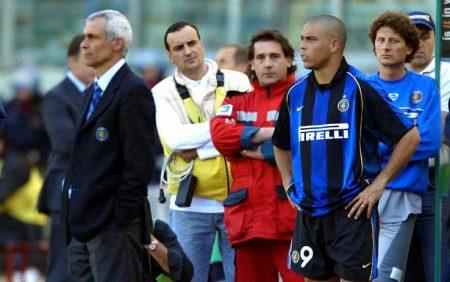 Héctor Cúper y Ronaldo Nazario, una pareja imposible.
