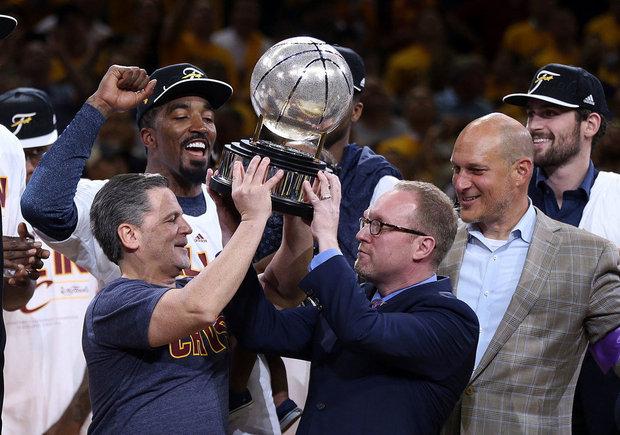 Los antiguos dos jefes de los Cleveland Cavaliers.