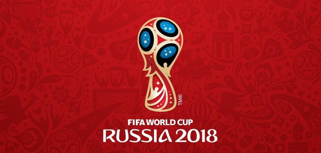 Logo Oficial para el Mundial de Rusia 2018. Cita mundialista. Copa del mundo