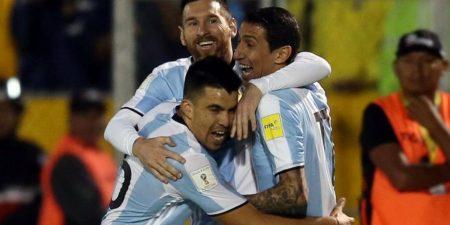 Clasificados a Rusia. Argentina celebra el pase directo al mundial. Trome.pe