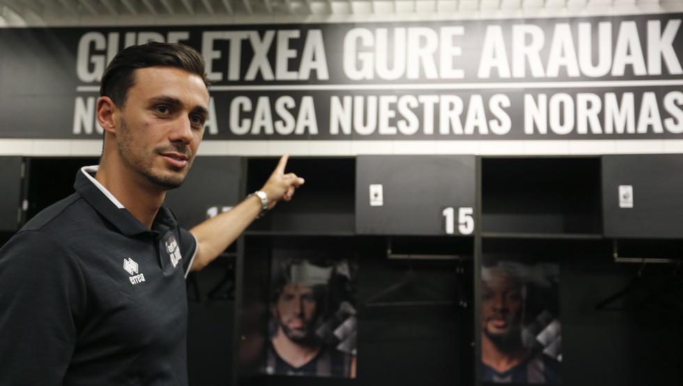 Pere Tomàs plantilla Bilbao Basket 2017-18