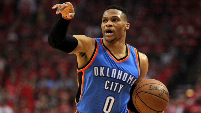 Oklahoma City Thunder. Russell Westbrook MVP de la 16/17 de la NBA.