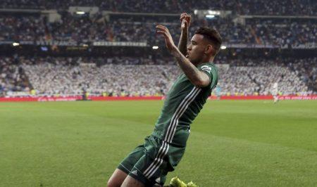 Sanabria anotá el 0-1 en el Santiago Bernabéu en el minuto 94.