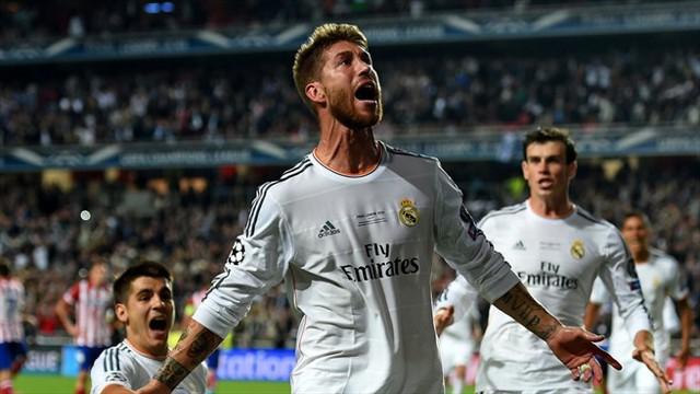 El gol más importante en la carrera de Sergio Ramos, el gol de la décima.