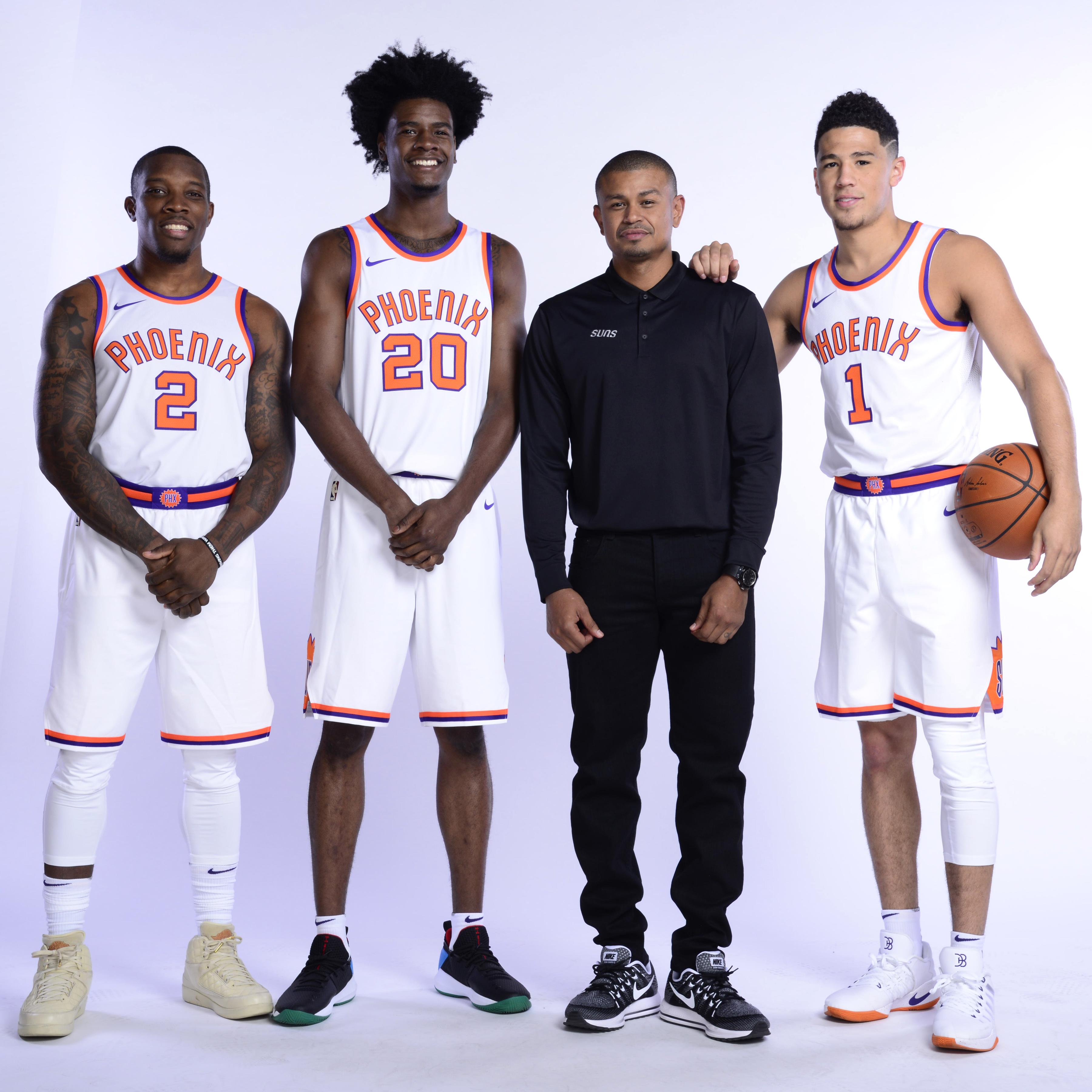 Phoenix Suns. Fotografía del Media Day de los Phoenix Suns 2017-18.