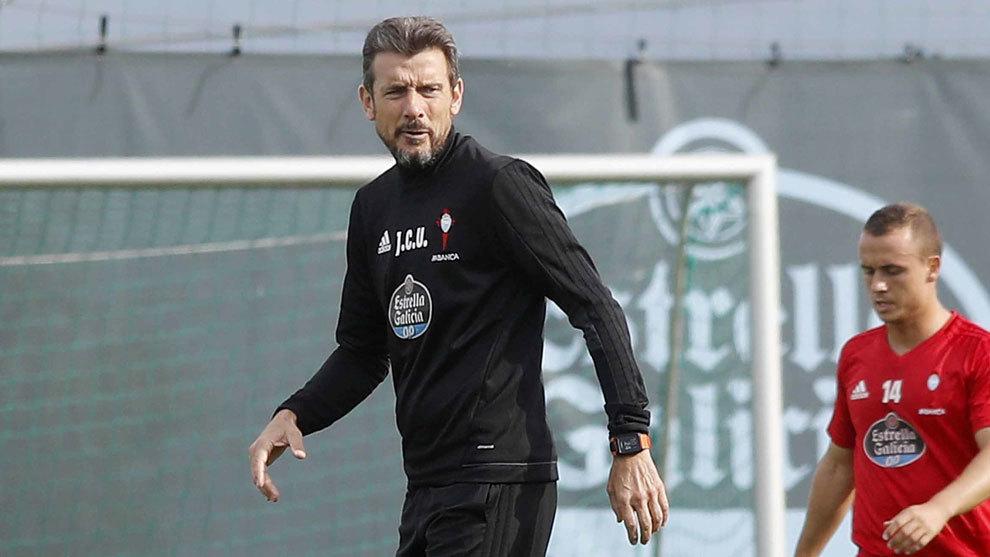 Juan Carlos Unzué no está consiguiendo sacar todo el rendimiento de la plantilla del Celta.
