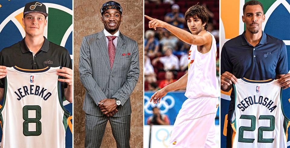 Utah Jazz. Fichajes del equipo.