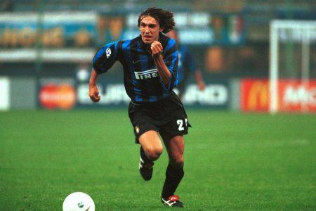 Andrea Pirlo durante un partido con el Inter de Milán.