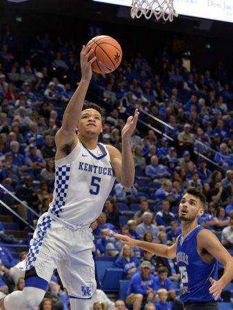 Cómo juega Kevin Knox. Su temporada en Kentucky marcará su futura carrera como jugador de la NBA.