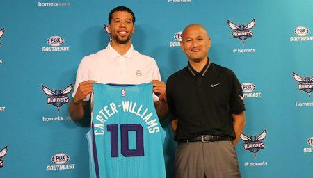 Actualmente MCW juega en los Hornets con los que ha firmado por un año.