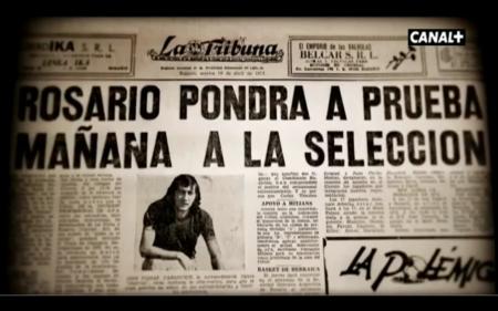 """Se anuncia el partido amistoso que ha hecho leyendario a """"El Trinche"""" Carlovich, también en la foto."""