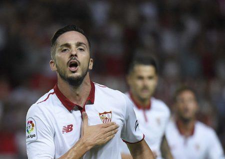 Pablo Sarabia explotó como jugador en el Sevilla