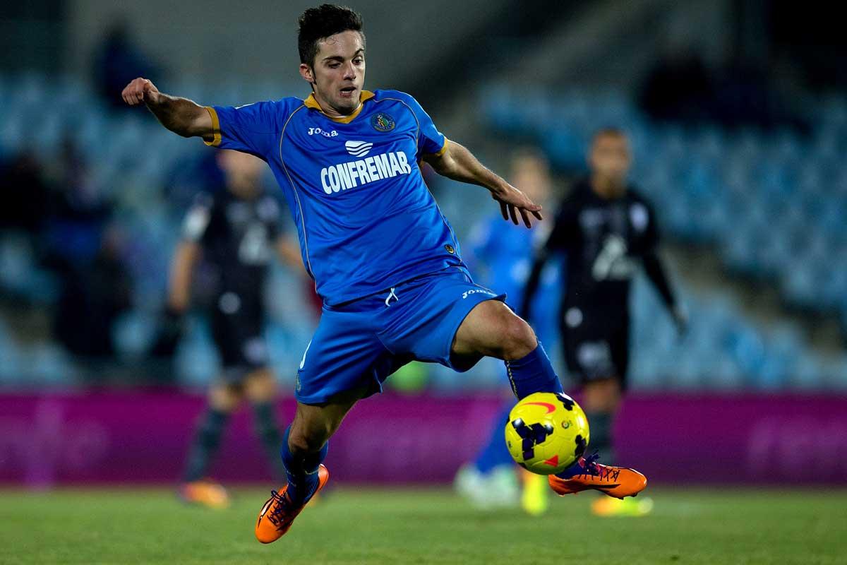 Pablo Sarabia en sus primeras temporadas en Getafe. Sportyou.