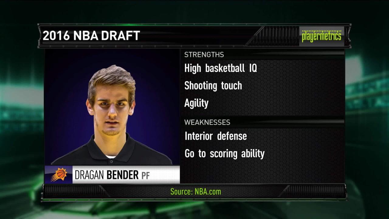 Análisis cualitativo de uno de los Novatos de la NBA.