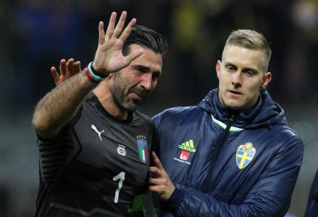 Italia no pudo con Suecia.