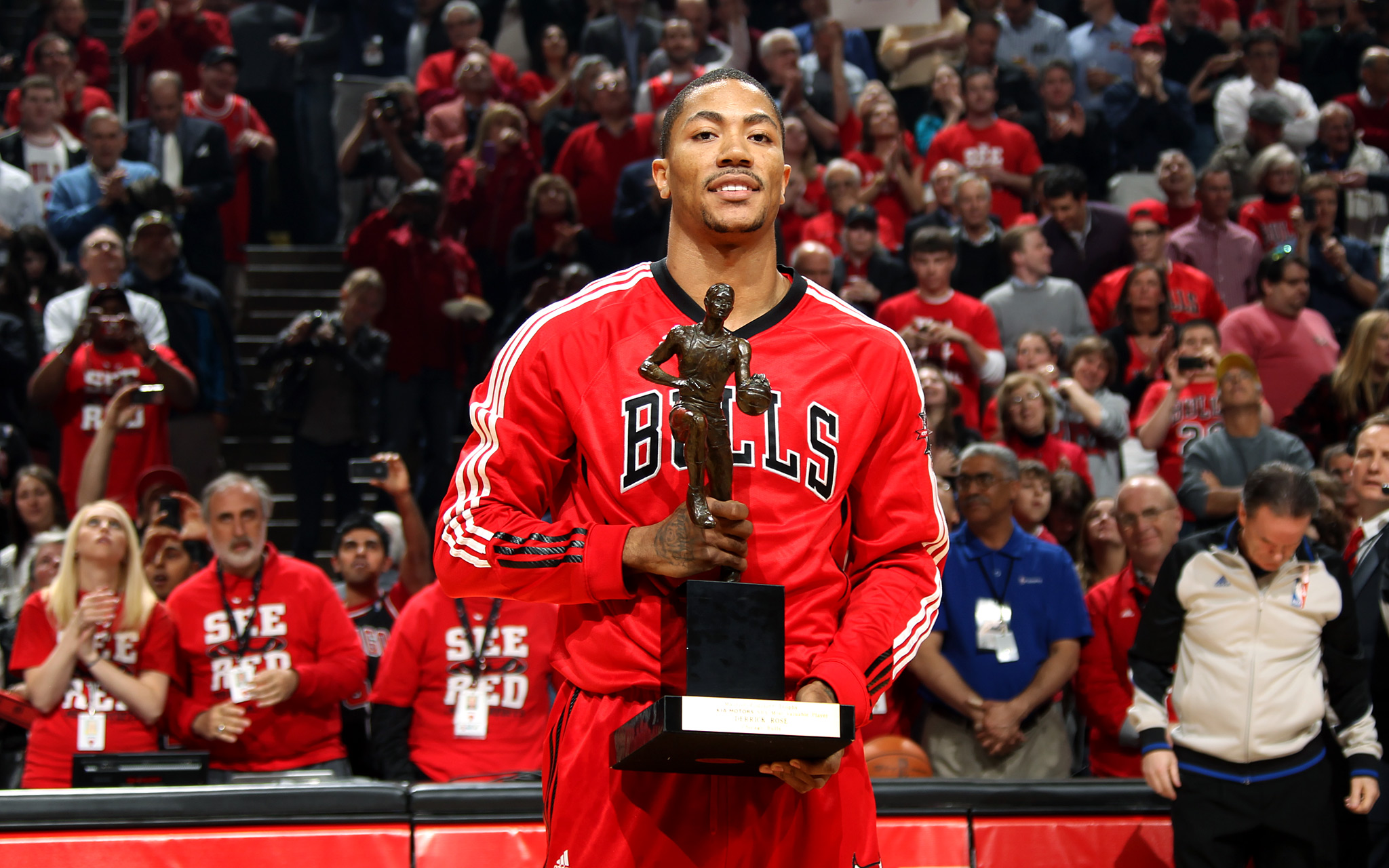 Derrick Rose fue MVP con solamente 22 años