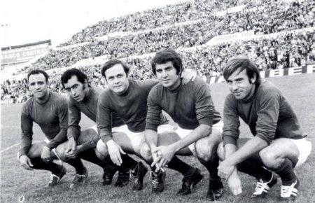 Los 5 magníficos del Real Zaragoza en los años 60