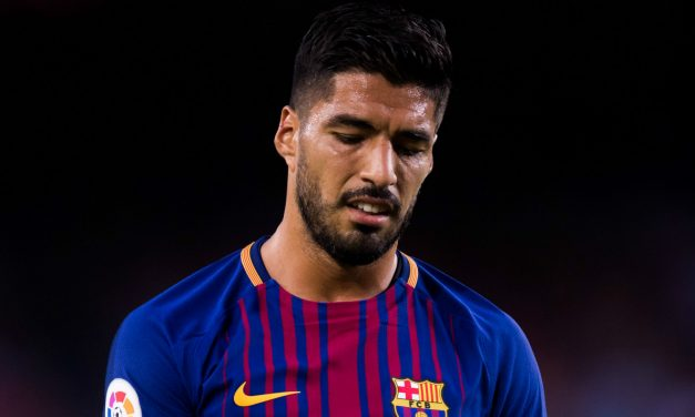 El mal momento de Luis Suárez en el Barcelona