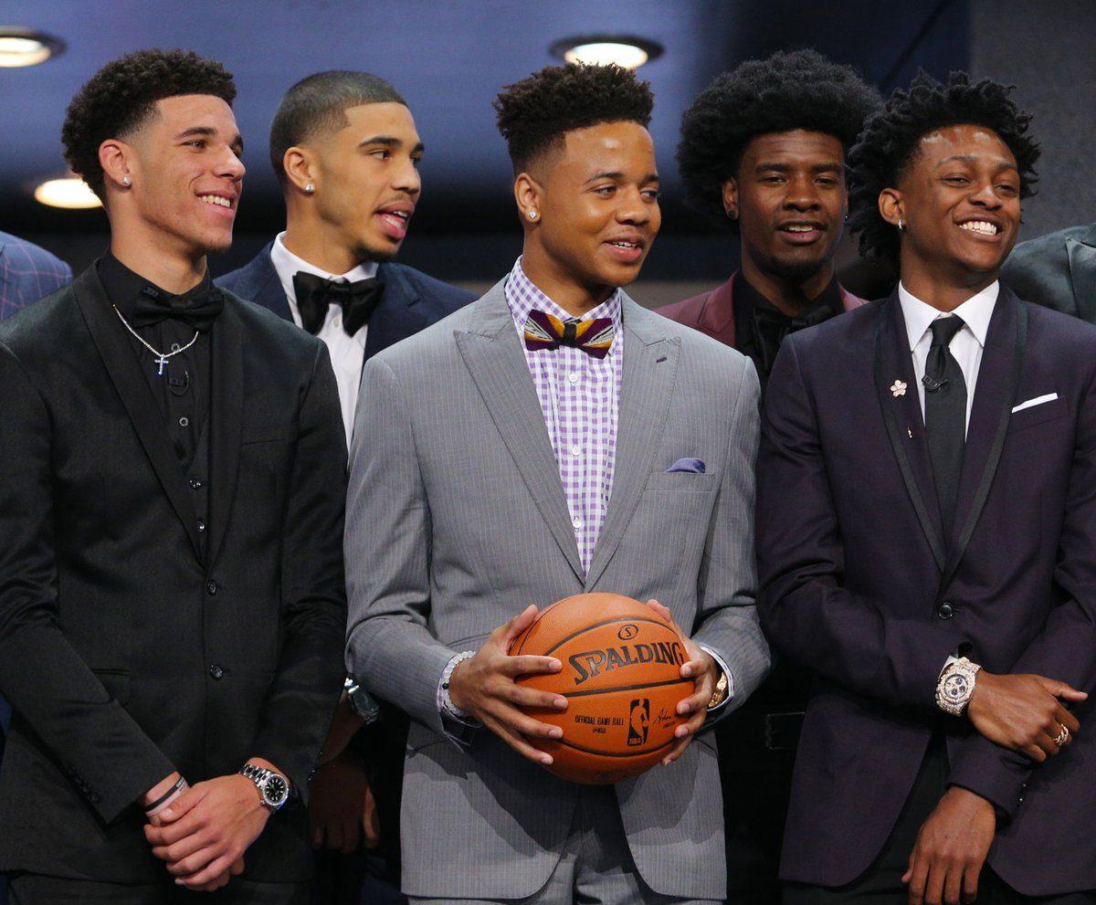 Los supuestos 5 mejores novatos de la NBA, reunidos.