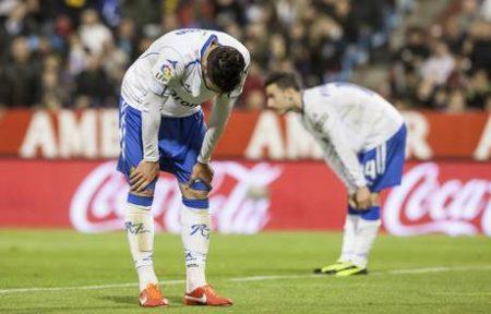Último descenso del Real Zaragoza en 2013