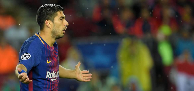 Luis Suárez no encuentra su lugar en este Barça.