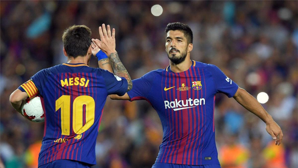 Luis Suárez, el mejor socio de Messi. Sport.es