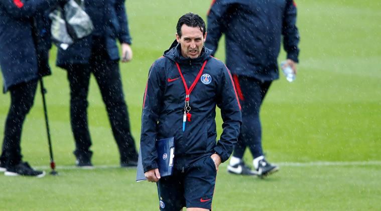 Unai Emery, actual entrenador del PSG. Indianexpress.com