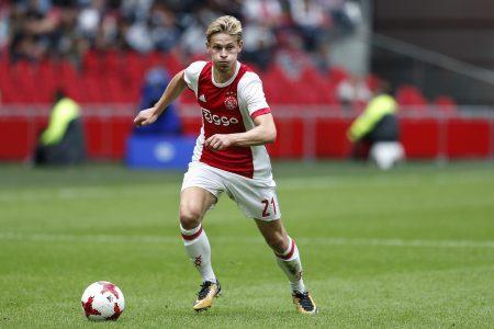 Cómo juega Frenkie de Jong Ajax