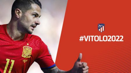 Ausencias selección española. El nivel que dé en el Atlético, determinará la convocatoria, o no, de Vitolo.