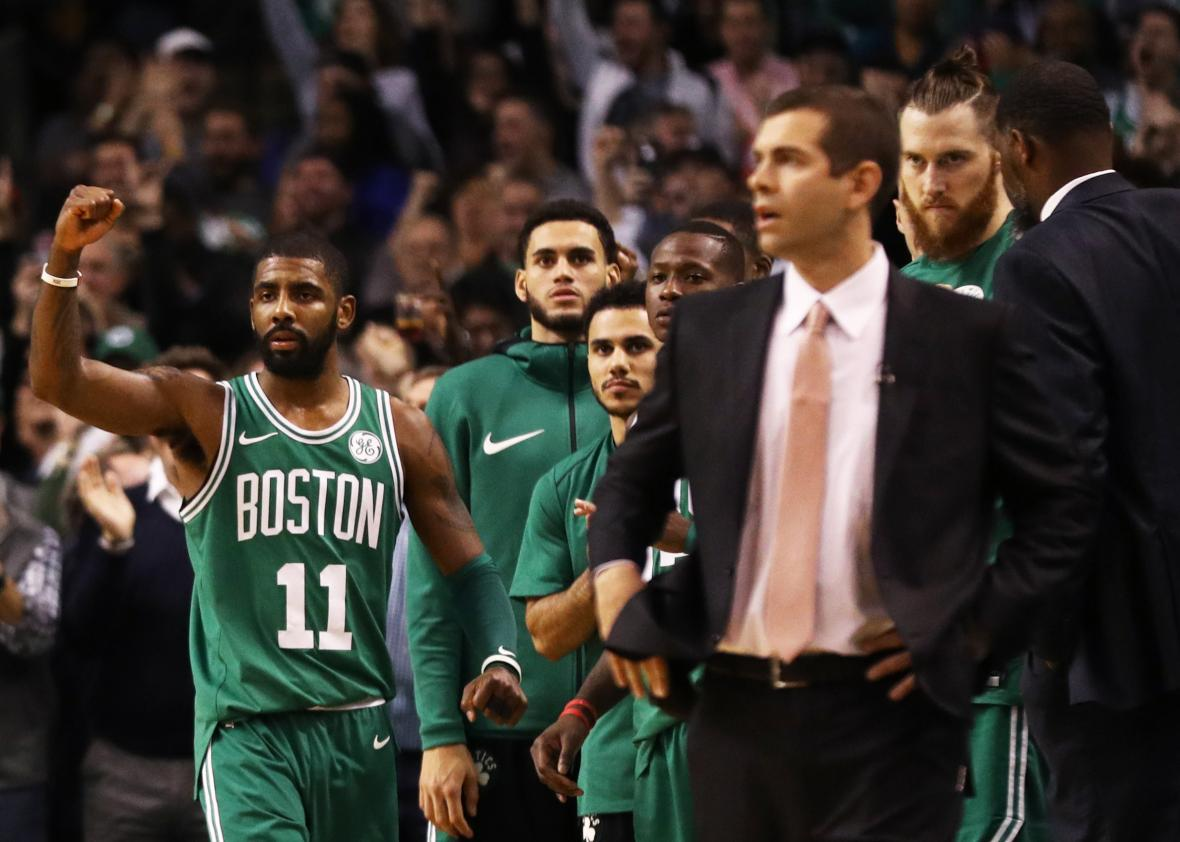 Brad Stevens, igual que Budenholzer, para la compración entre Boston Celtics y Atlanta Hawks.