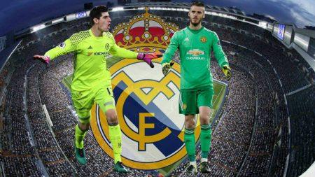 El Madrid siempre tiene en la mente a los mejores, y De Gea y Courtois son dos de los mejores porteros del mundo.