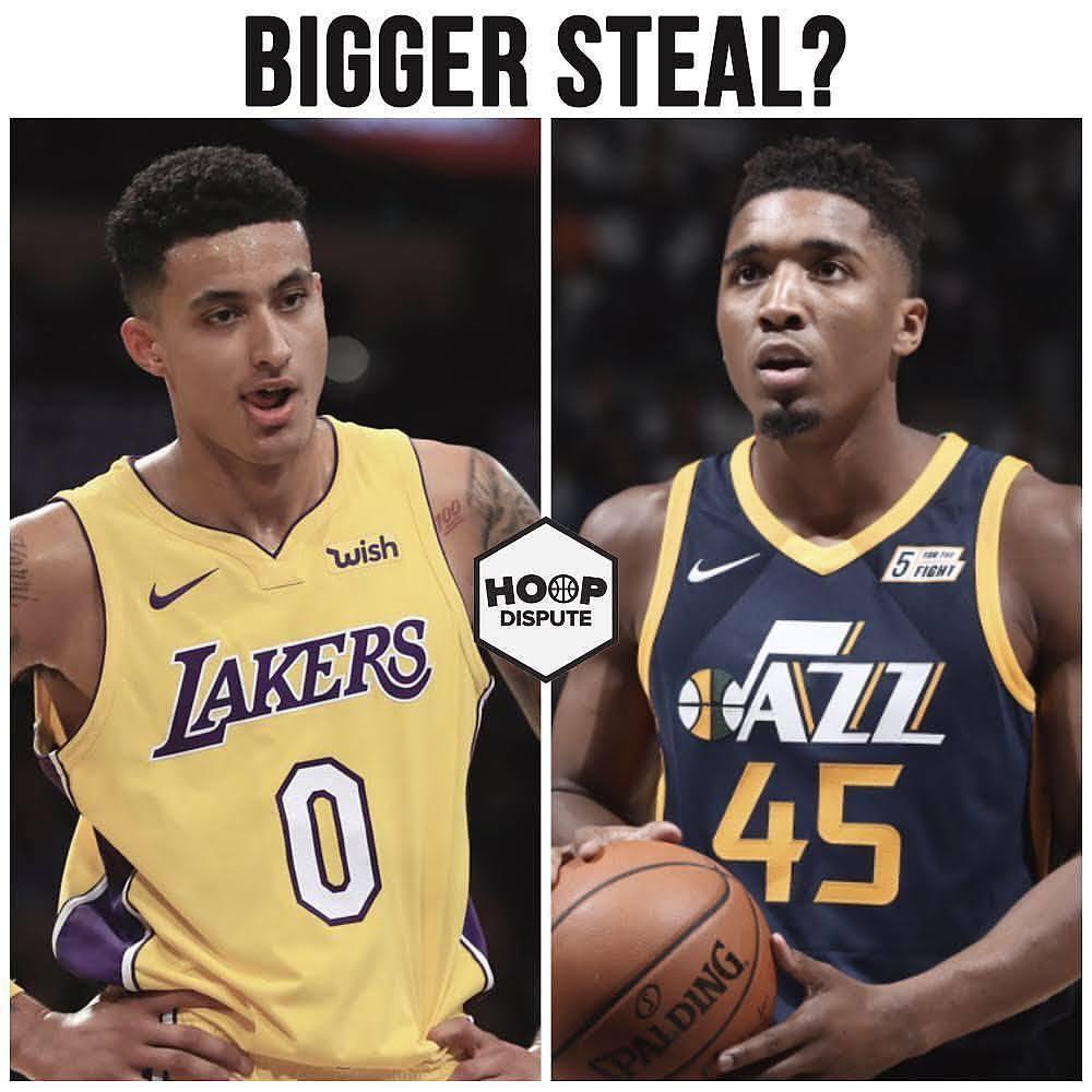 Resumen NBA año 2017. Los 2 robos claros del Draft, Kuzma y Mitchell, auténticos quebraderos de cabeza para muchos GMs.