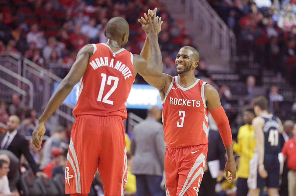 Resumen NBA año 2017. Mbah a Moute y CP3, nuevas piezas clave en el sistema de Houston Rockets.