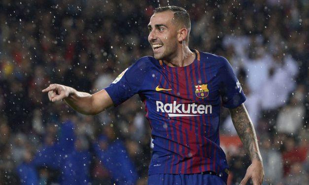 De menos a más: Paco Alcácer y el FC Barcelona