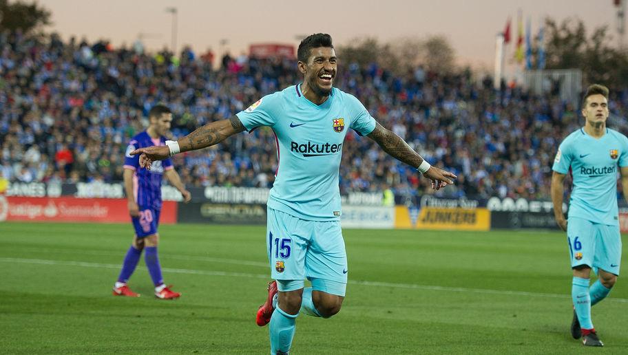 Paulinho marcaba su cuarto gol de la temporada, frente al Leganés. 90min.com