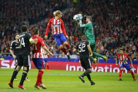 Atlético no le pudo ganar al Qarabag en el Metropolitano.