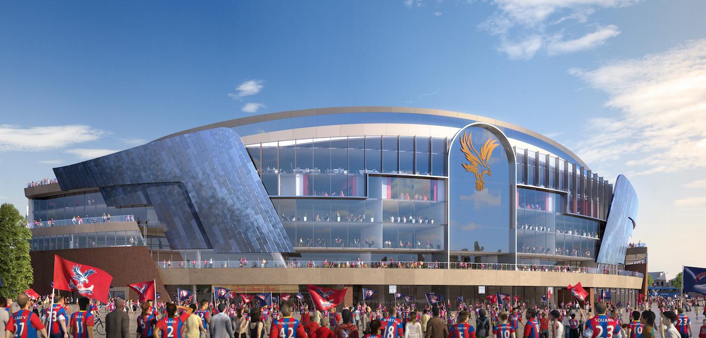 El nuevo diseño tiene una fachada completamente de cristal.