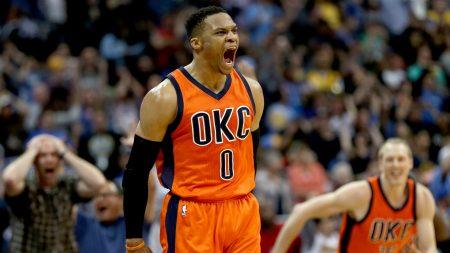 Mejor jugador de la NBA en transición: Westbrook