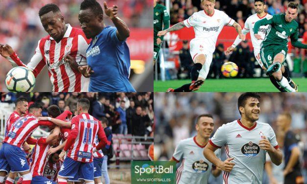 11 ideal jugadores revelación La Liga (1ª vuelta)