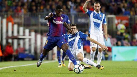 Dembelé aún tiene que demostrar de qué es capaz para ganarse un puesto en el 11 titular del Bacelona.