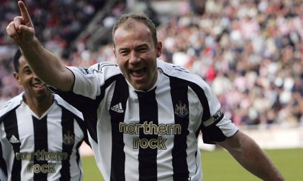 Alan Shearer, el ídolo de St James' Park