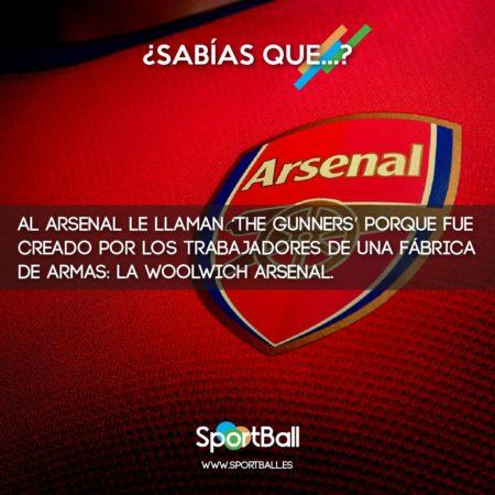 ¿Por qué el Arsenal son The Gunners?