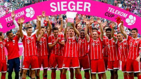 El Bayern de Múnich no para de mandar en el fútbol alemán.
