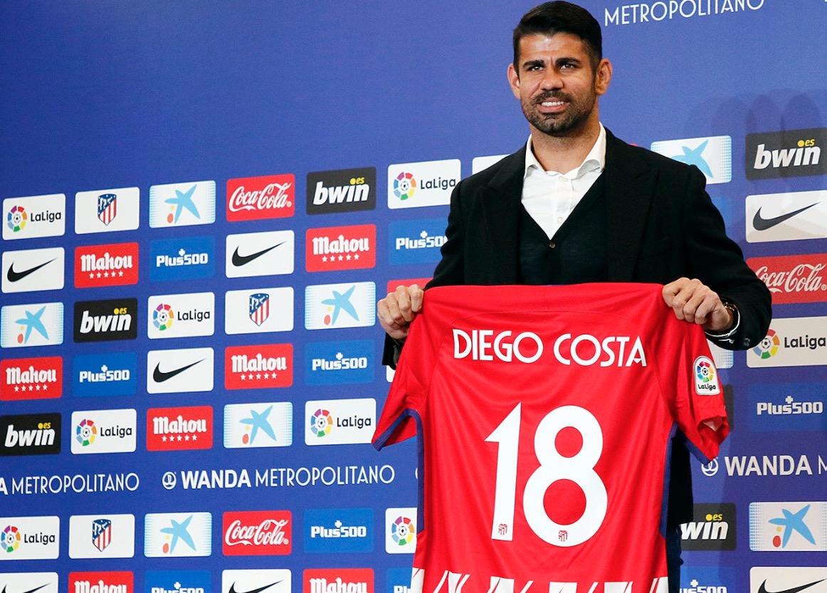 Diego Costa, listo para los octavos de final Copa del Rey.