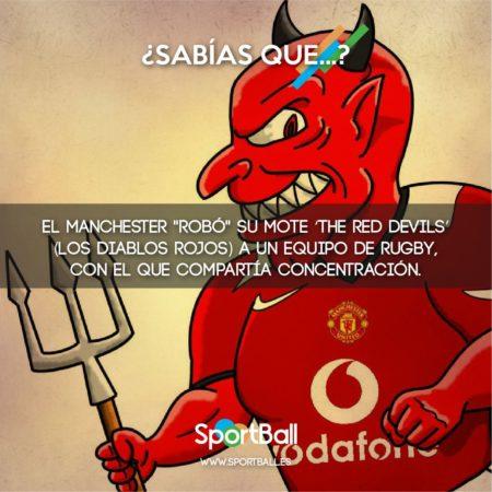 ¿Por qué el Manchester United son Diablos Rojos?