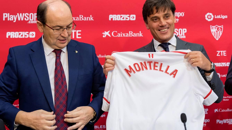 Montella debutará con el Sevilla en los octavos de final Copa del Rey.